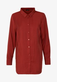 Re.draft - CLASSIC BLOUSE - Button-down blouse - toffee - 3