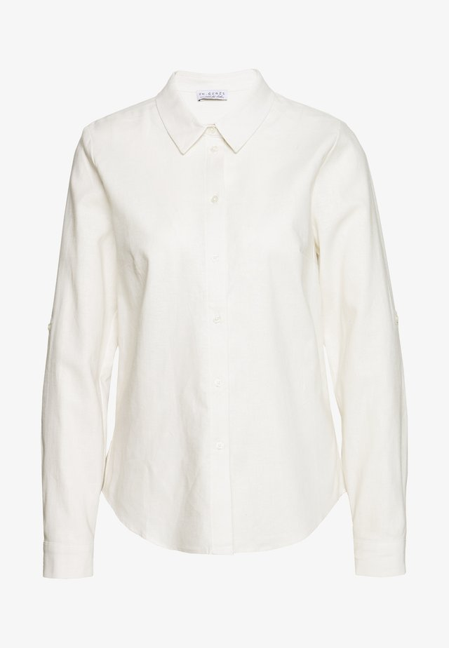 BLOUSE - Skjorta - white beach