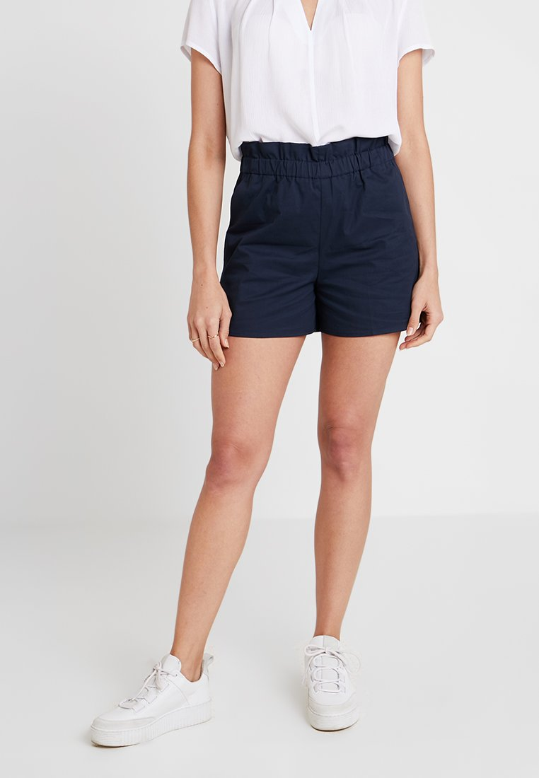Re.draft - RAFUNG GATHERED - Shorts - navy