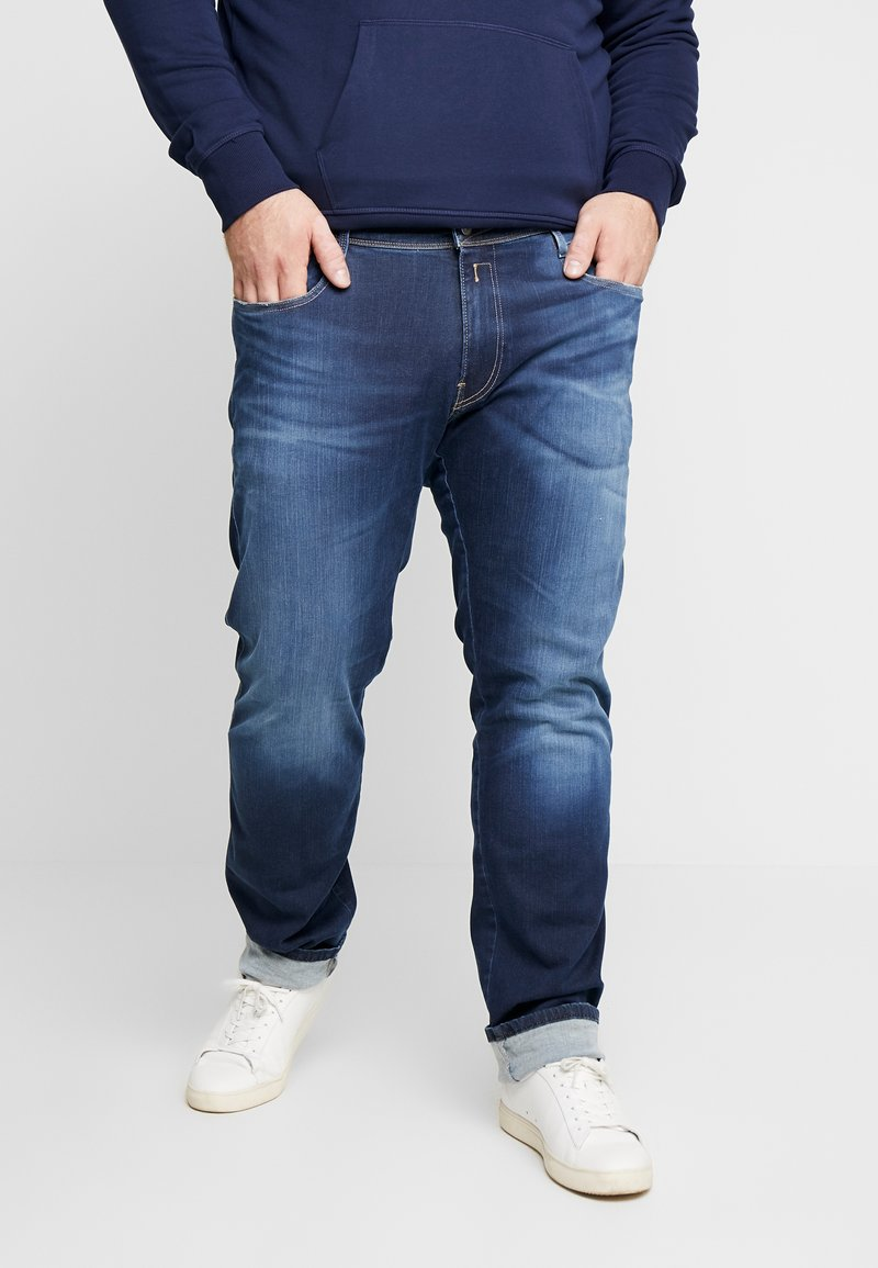 Replay Plus - Straight leg jeans - dark blue denim