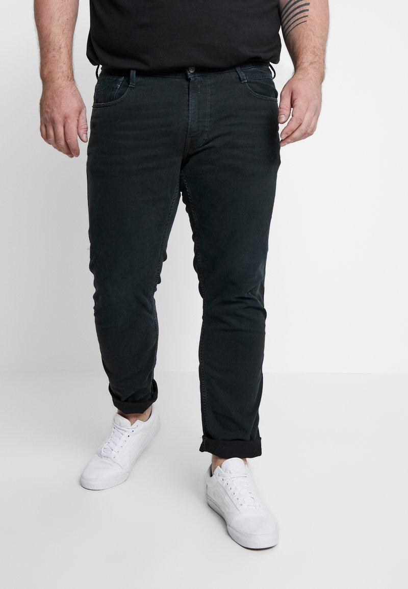 Replay Plus - Jean slim - black denim