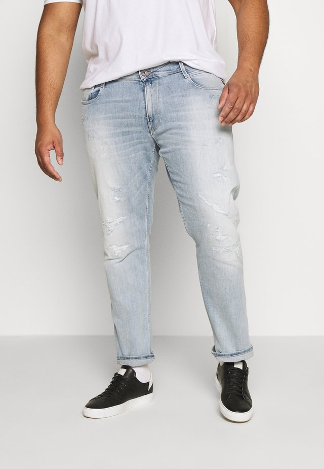 Jeans Slim Fit - hellblau destroyed