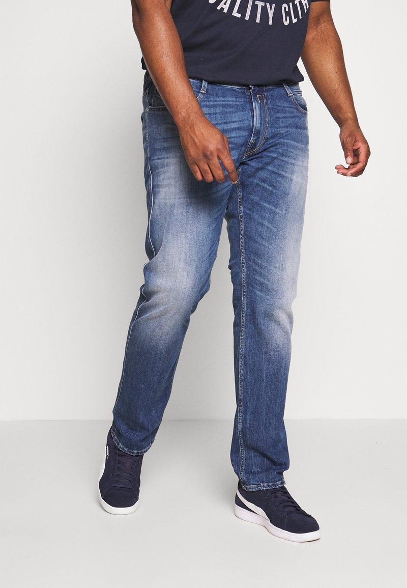 Replay Plus - Jean slim - blue denim