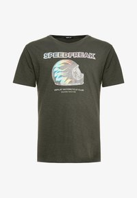 Replay Plus - T-shirt con stampa - green - 3