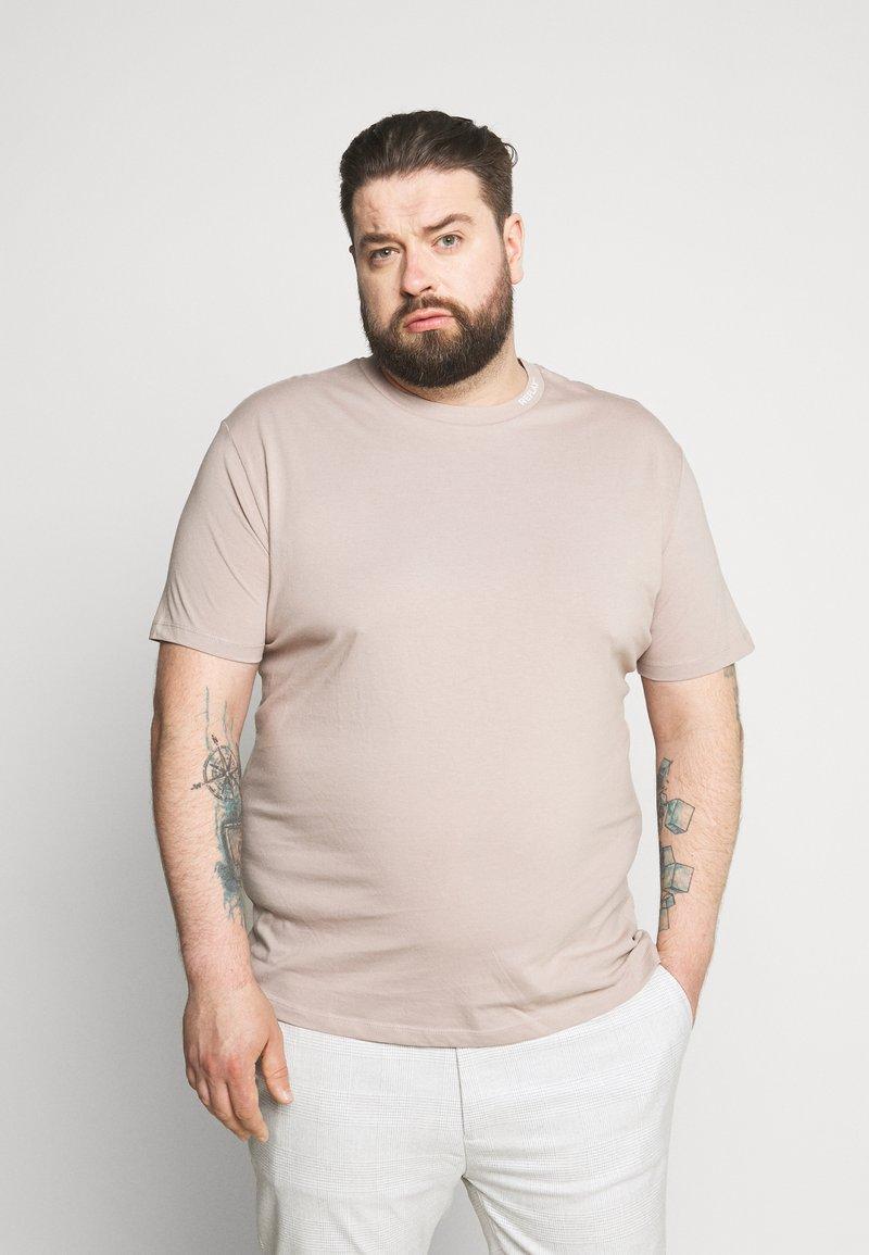 Replay Plus - T-shirt basic - mud