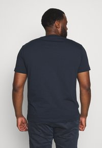 Replay Plus - 2 PACK  - Basic T-shirt - cold grey/navy - 2