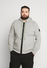 Replay Plus - Zip-up hoodie - light grey melange - 0