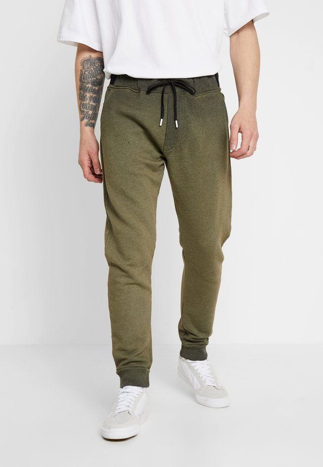 Stoffhose - military green