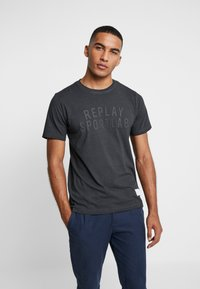 Replay Sportlab - T-shirts med print - black - 0