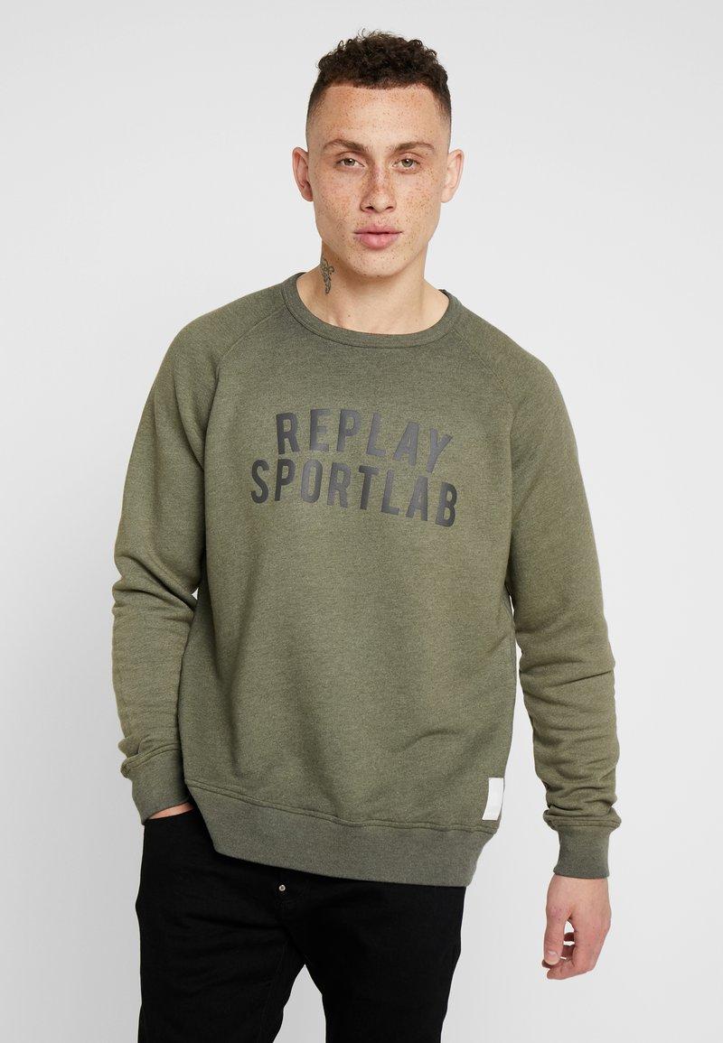 Replay Sportlab - Sweatshirt - green