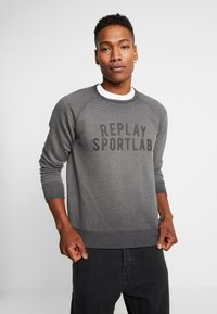 Replay Sportlab - Sweatshirt - iron - 0