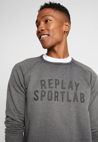 Replay Sportlab - Sweatshirt - iron - 4