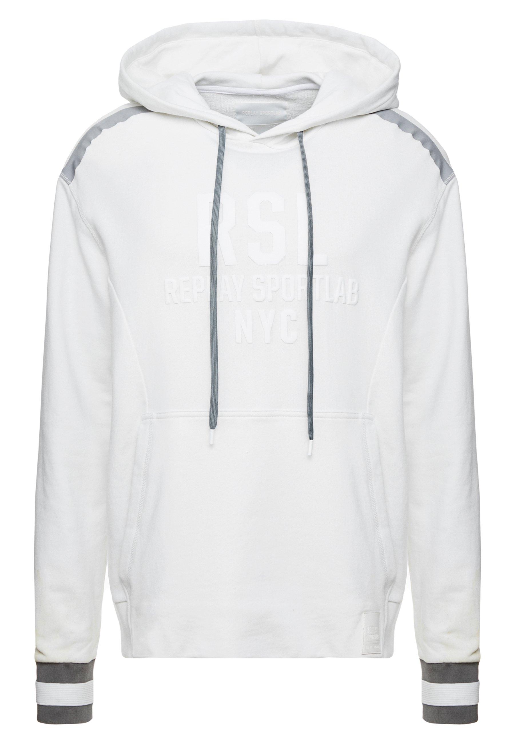 Replay Sportlab Luvtröja - White
