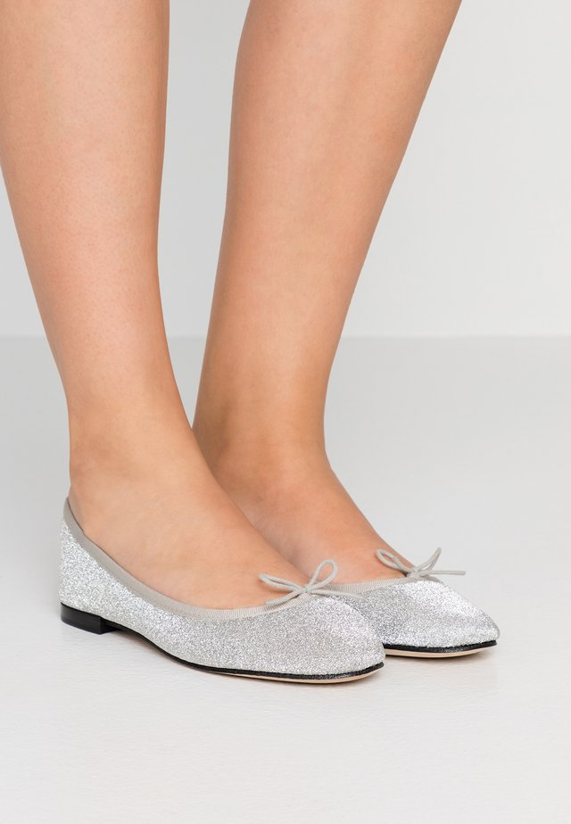 CENDRILLON - Ballet pumps - argent