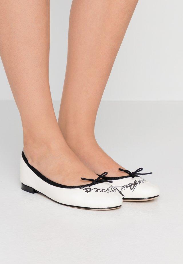 CENDRILLON - Ballet pumps - noir/blanc
