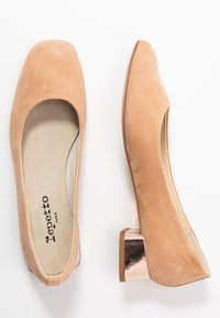 Repetto - MARLON - Classic heels - biscuit/r rose - 3