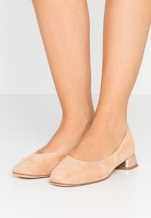 MARLON - Klassiske pumps - biscuit/r rose