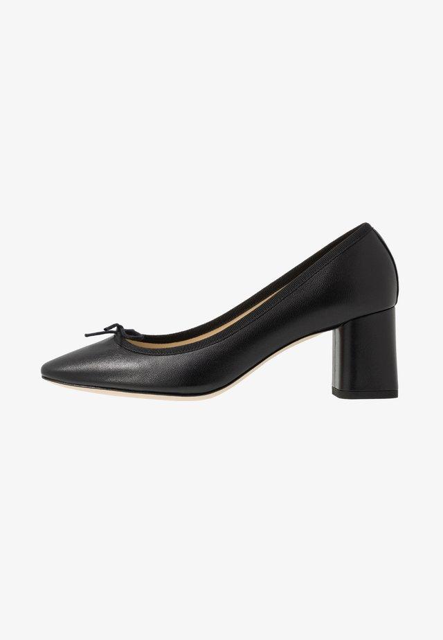 NASTASIA - Classic heels - noir