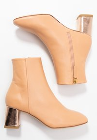 Repetto - MELO - Classic ankle boots - biscuit/rose - 3