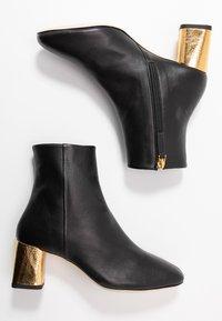 Repetto - MELO - Classic ankle boots - noir/or - 3