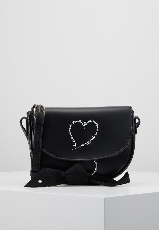 MINI DUO LOVE - Across body bag - noir