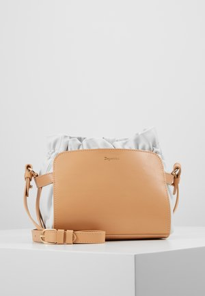 ENVELOPPE - Across body bag - biscuit/blanc/nude/white