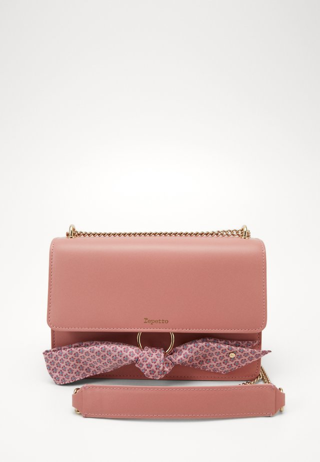 TRIPLE JEU - Across body bag - dragee pink