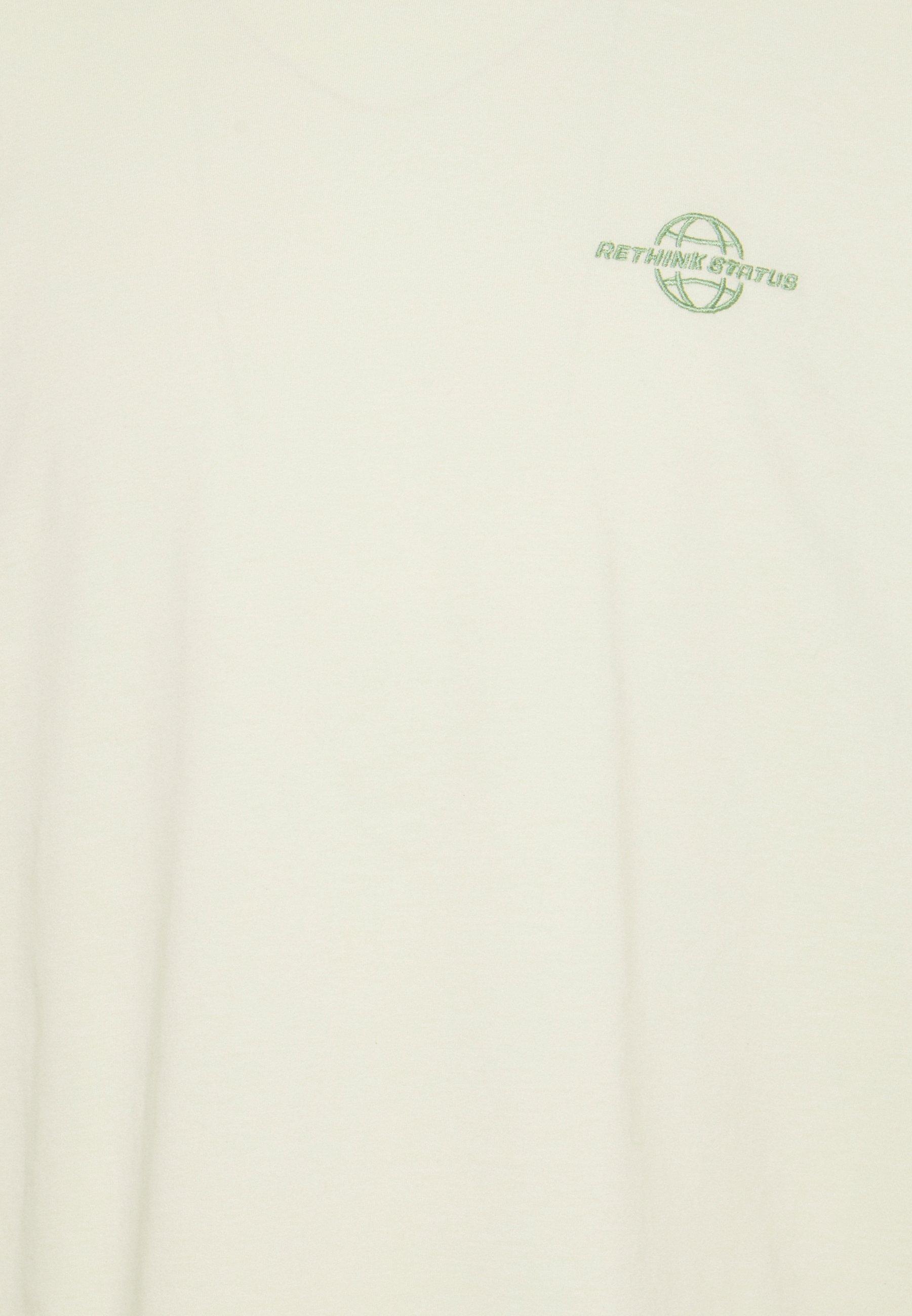 RETHINK Status T-shirts print - aloe wash - Tøj Til Herrer Salg