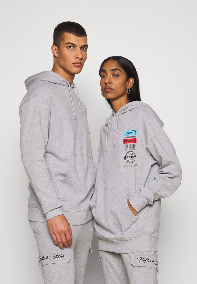 HOODY UNISEX - Sweat à capuche - grey