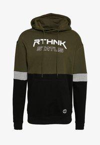 RETHINK Status - HOODY  - Hoodie - army - 0