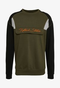 RETHINK Status - CREW NECK - Sweatshirt - army - 0
