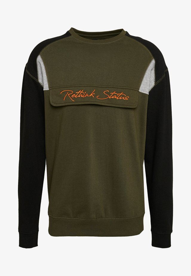CREW NECK - Sweatshirts - army