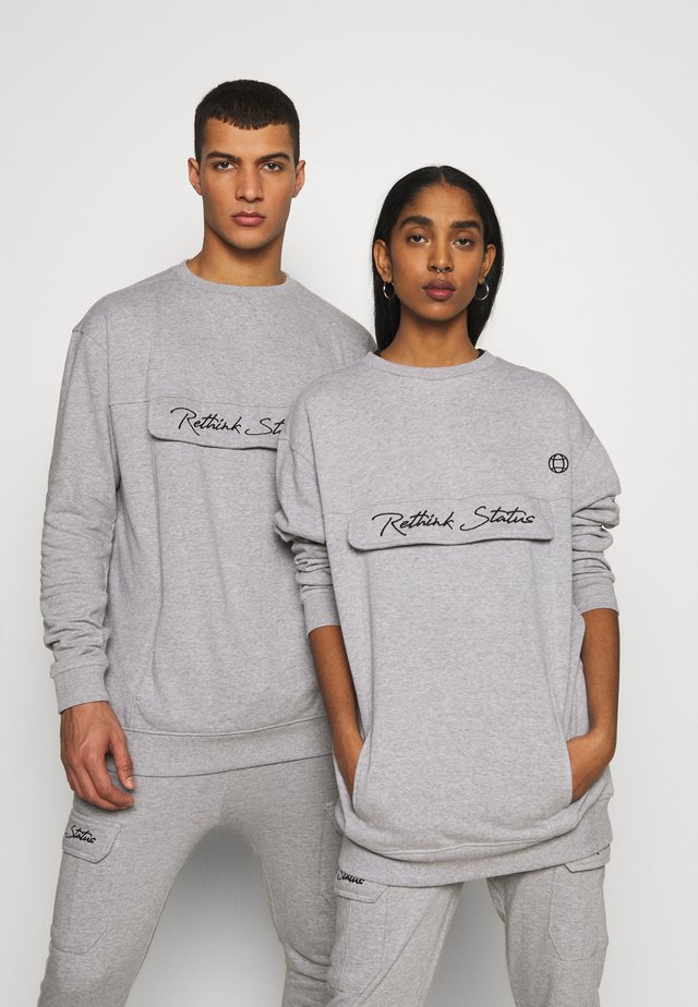 CREW NECK  - Sweatshirts - grey