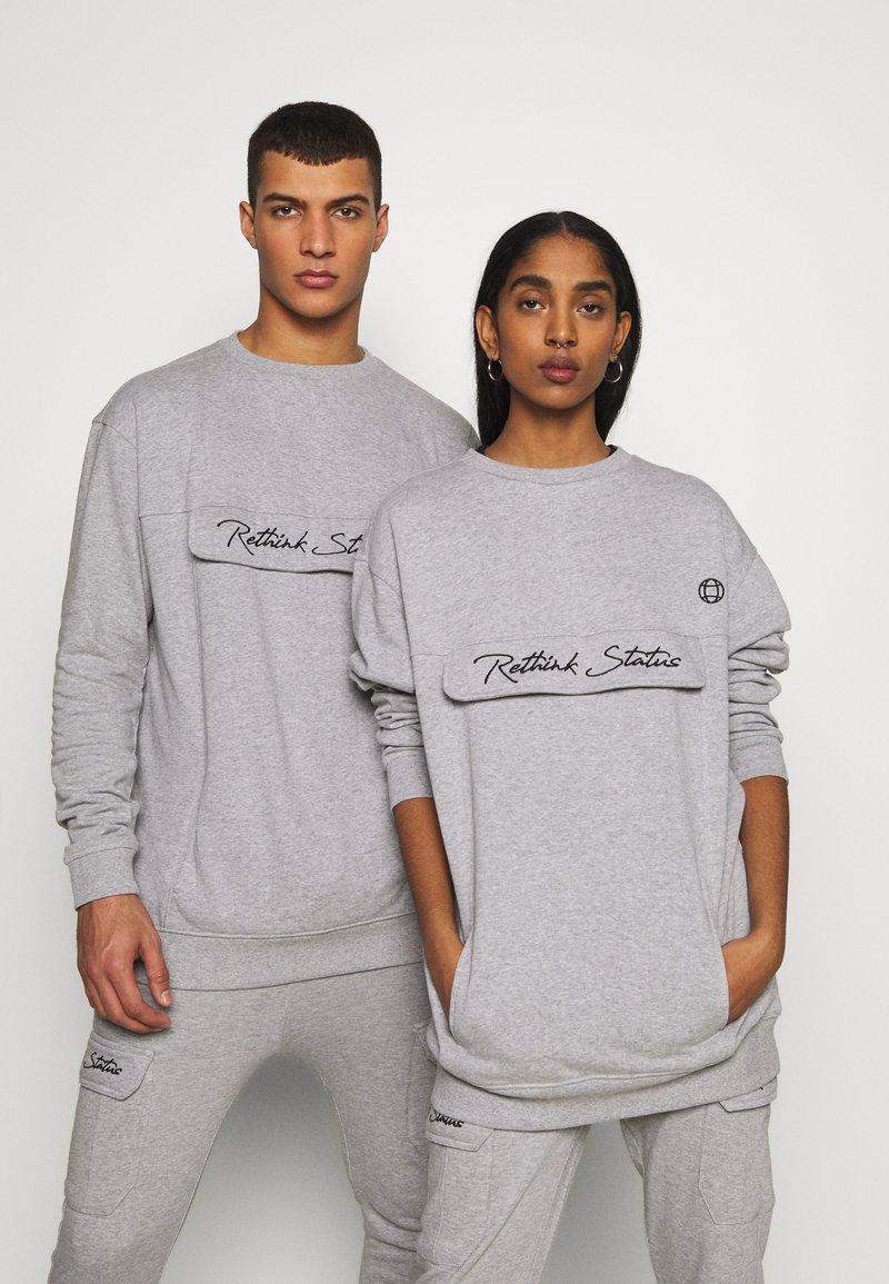 RETHINK Status - CREW NECK  - Sweatshirt - grey