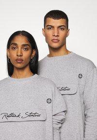 RETHINK Status - CREW NECK  - Sweatshirt - grey - 5