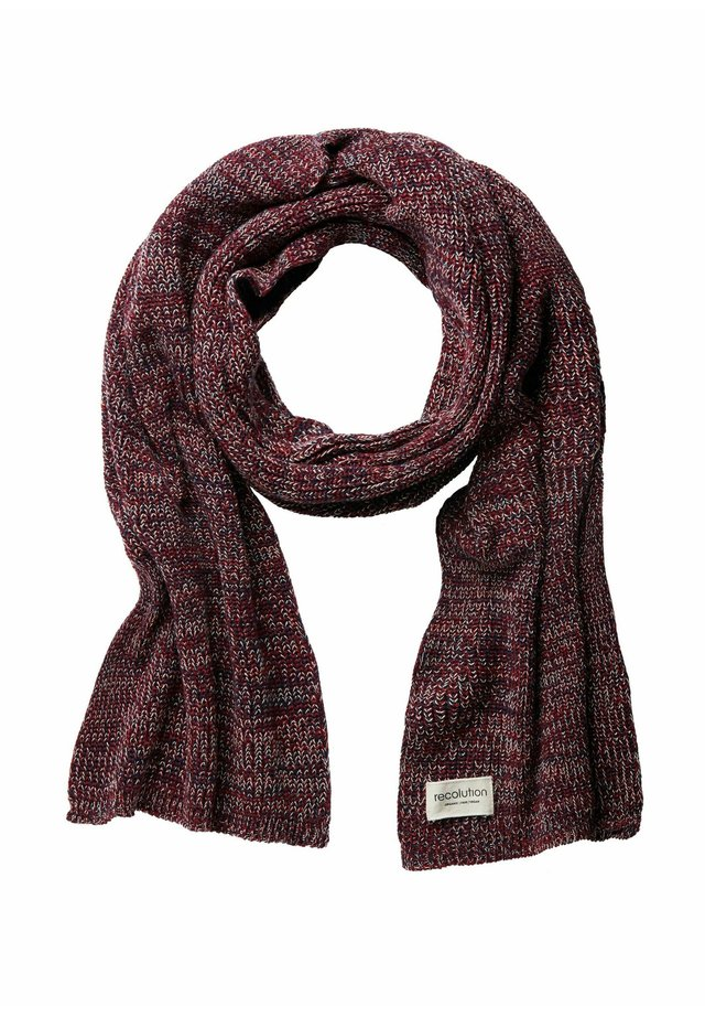 Scarf - red sand