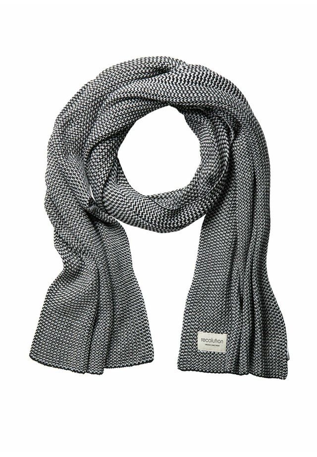 Scarf - grey black