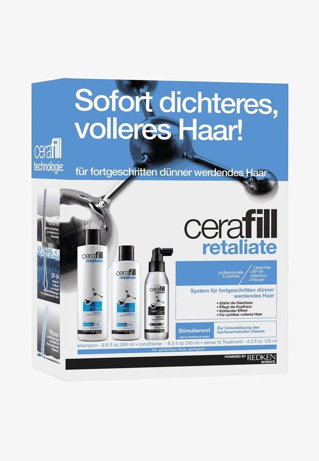 CERAFILL RETALIATE KIT - Hair set - -