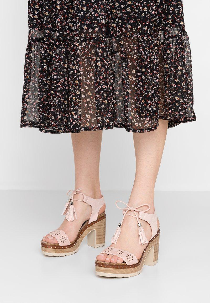 Refresh - High Heel Sandalette - nude