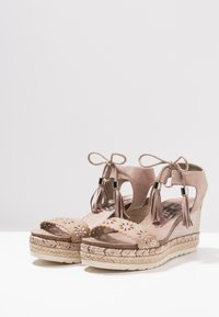 Refresh - Plateausandaler - taupe - 4