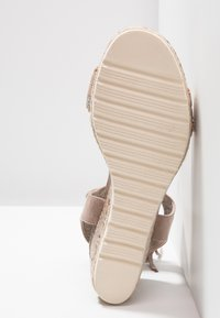 Refresh - Plateausandaler - taupe - 6
