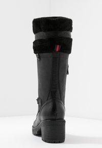 Refresh - Šněrovací vysoké boty - black - 5