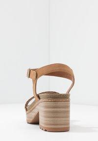 Refresh - Sandalen met plateauzool - camel - 5