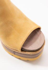 Refresh - Heeled mules - yellow - 2