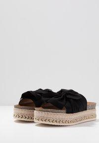 Refresh - Pantofle na podpatku - black - 4