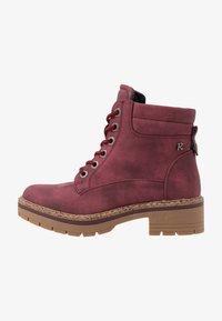 Refresh - Platform ankle boots - burgundy - 1