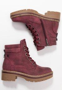 Refresh - Platform ankle boots - burgundy - 3