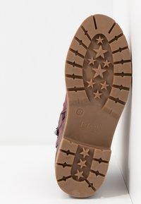 Refresh - Platform ankle boots - burgundy - 6