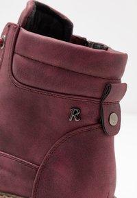 Refresh - Platform ankle boots - burgundy - 2