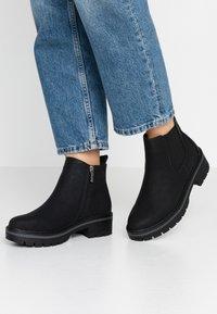 Refresh - Kotníková obuv - black - 0